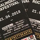 Tickets fürs 24. Balinger Rockfestival